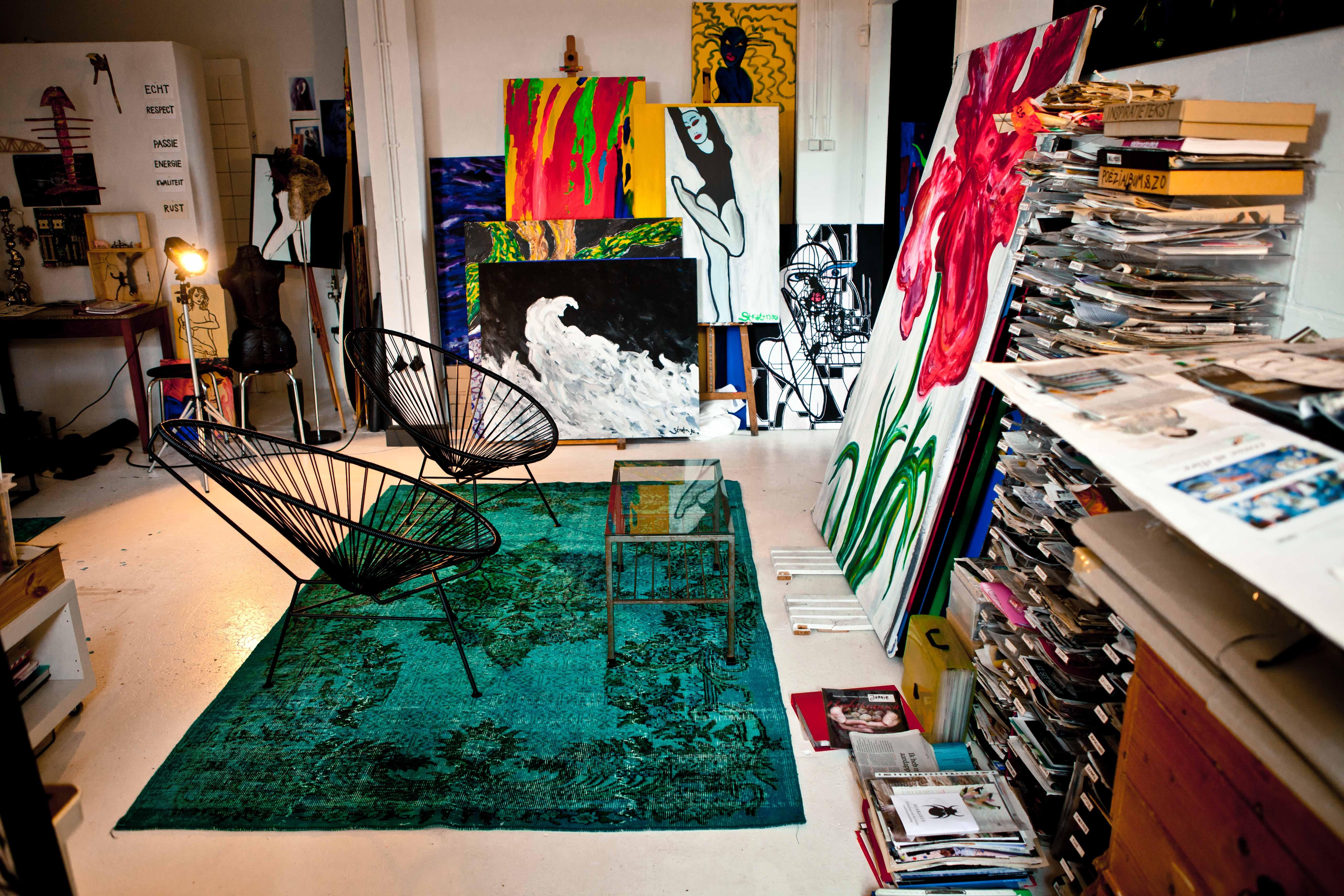 Kleurrijke Interieurs Pastel : Byfaith interiors inspiratie ontwikkeling en advies op gebied van